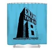 Classic Cklw Logo Shower Curtain