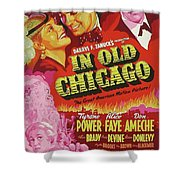 Classic Movie Poster - In Old Chicago Shower Curtain