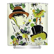 Classic Movie Poster - The Cocoanuts Shower Curtain