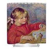 Claude Renoir At Play Shower Curtain