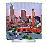 Cle Is Lookin Good Shower Curtain