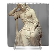 Cleopatra,  Marble Shower Curtain