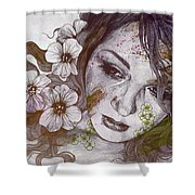 Cleopatra's Sling - Sunset Shower Curtain