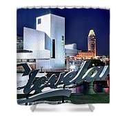 Cleveland Ohio 2019 Shower Curtain