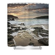 Clogher Strand Dingle Kerry Ireland Shower Curtain