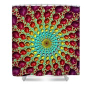 Close The Circle. Shower Curtain