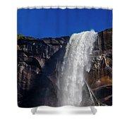 Close Up Bridalveil Falls Shower Curtain