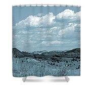 Cloud Dance Shadows Shower Curtain