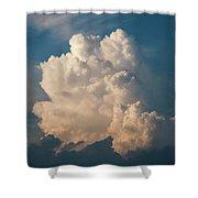 Cloud On Sky Shower Curtain