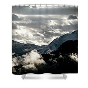 Clouds Above All Shower Curtain