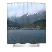 Cloudy Morning In Ushuaia, Argentina Shower Curtain