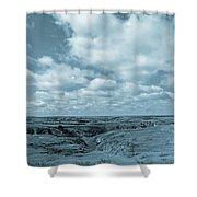 Cloudy Prairie Reverie Shower Curtain