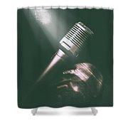 Club Karaoke Shower Curtain