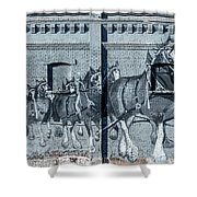 Clydesdale Mural Shower Curtain