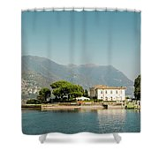 Coast Of Como Shower Curtain