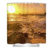 Coastal Sunrise Spectacular  Shower Curtain