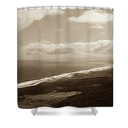 Cofete Beach Shower Curtain