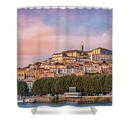 Coimbra's Skyline Shower Curtain