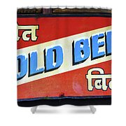 Cold Beer In India Shower Curtain
