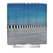 Cold Storage Shower Curtain