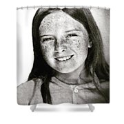 Colette 12 Years  Shower Curtain by Colette V Hera Guggenheim