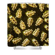 Colonial Glow Shower Curtain