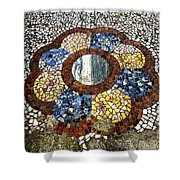 Color Interlude Shower Curtain