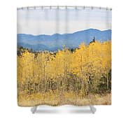 Colorado Autumn In The Mountains Shower Curtain