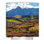Colorado Color Bonanza Shower Curtain