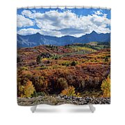 Colorado Color Lalapalooza Shower Curtain