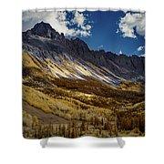 Colorado Mountains Shower Curtain