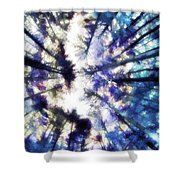 Colorful Trees Vi Shower Curtain