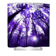 Colorful Trees X Shower Curtain