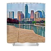 Come To Austin Texas Shower Curtain