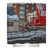 Comming Home 0 #i3 Shower Curtain by Leif Sohlman