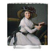 Comtesse De La Chatre Later Marquise De Jaucourt  Shower Curtain