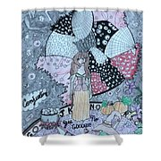 Conjuring Shower Curtain