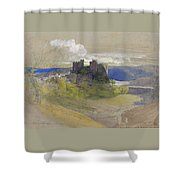 Conway Castle - Digital Remastered Edition Shower Curtain