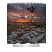 Cool Breeze  Shower Curtain