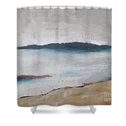 Cool Lake Shower Curtain