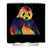 Cool Panda Little Bear Australia Animal Color Design Shower Curtain