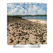 Coral Beach, Skye Shower Curtain