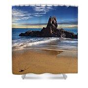 Corona Del Mar Beach Shower Curtain