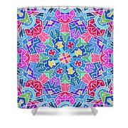 Cosmic Sign Post Shower Curtain