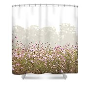 Cosmos Field Shower Curtain