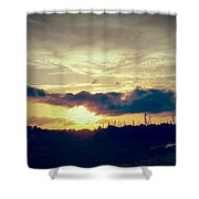 Country Sunset In Pavo Shower Curtain