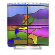 Country View Shower Curtain