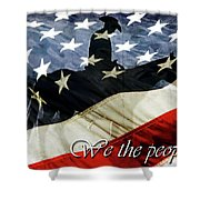 Cowboy Patriot Shower Curtain