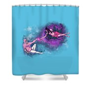 Creation Of Woman Shower Curtain