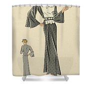 Creations De Haute Couture Shower Curtain